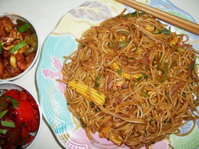 Thai Vegetarian Drunken Noodles