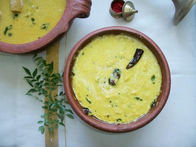 Mambalam Pachadi (Ripe Mango Pachadi)