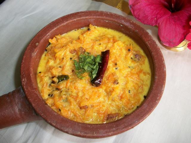 Keralan Carrot Pachadi