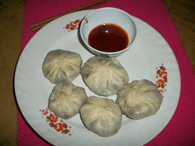 Steamed Momos / Steamed Stuffed Vegetable Dumplings – With Step by Step Pictures & Videos