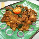 Andhra Kodi Roast / Chicken Roast with Red Chilli Sauce