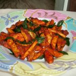 Spiced Up French Fries / French Fries – Indian Style