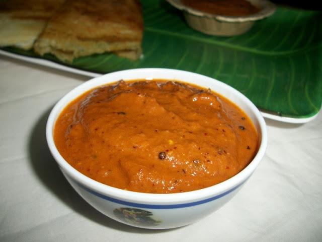 Andhra Allam Pachadi / Ginger Chutney – Chutney Recipe for Idli and Dosa