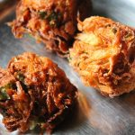 Ulli Vada / Fried Onion Dumplings / Onion Vada / Onion Fritters