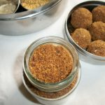 Tavana Podi / Roasted Coconut & Spice Powder – Combo for Dosa, Idli and Curd Rice