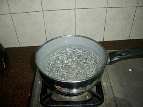 boil some water lots of On a very, very cold day (it has to be about -30° or lower for this to work), take a  pot of some just-boiling water and throw it up (away from your.