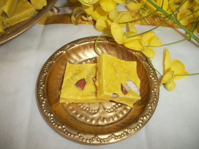 Maida Barfi / Barfi Made with All Purpose Flour – Sweets for Diwali