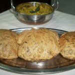 Methi Poori  /  Fried Fenugreek Leaves Poori