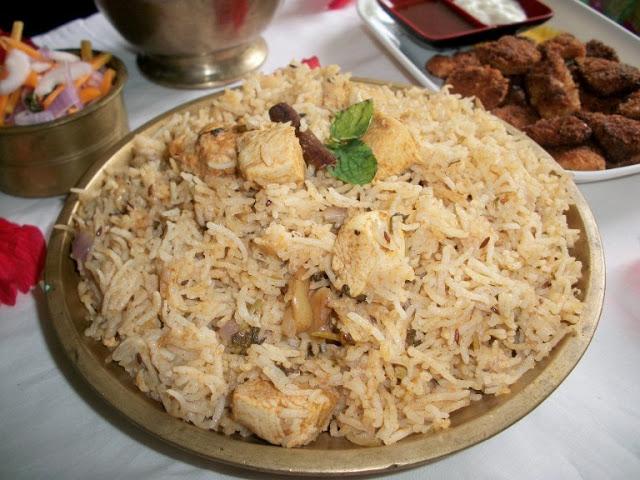 Chicken Pilaf / Chicken Pulav