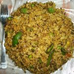 Methi Matar Pulav – Recipe for Leftover Rice / Lunch Box Ideas