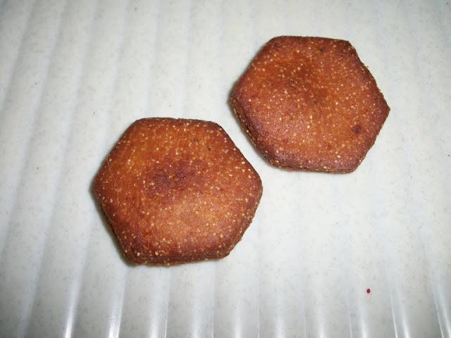 Thekua Cookies / Khajur / Khajuri / Khajoor – For Indian Cooking Challenge