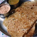 Instant & Crispy Wheat Dosa / Gothambu Dosa ( Savoury Version)– Quick Breakfast Ideas