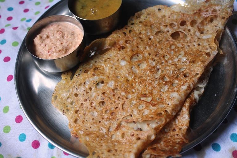 Instant & Crispy Wheat Dosa / Gothambu Dosa ( Savoury Version)– Quick Breakfast Ideas