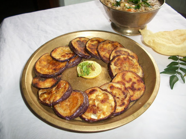 Simple Brinjal Fry – Quick Sidedish for Rice