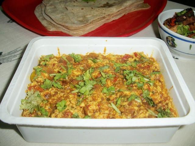 Tofu  Bhurji / Scrambled Tofu with Spices / Scrambled Tofu Masala – Healthy Sidedish