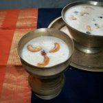 Rawa Payasam / Sooji Kheer – Karthigai Deepam Special Recipes