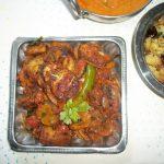 Tawa Baigan / Tawa Brinjal Masala / Batter Fried Brinjal Masala / Pan Fried Eggplant Masala