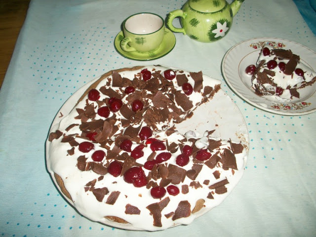 Chocolate Cherry Pavlova for a Special Day