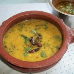 Hyderabadi Khatti Dal / Moong Dal Seasoned with Spices