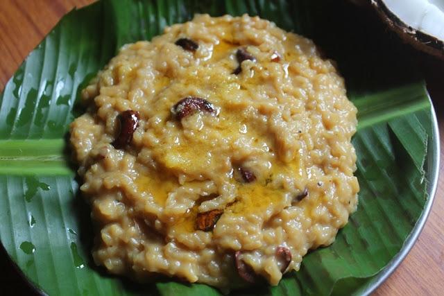 Sakkarai Pongal Recipe – Sweet Pongal Recipe