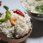 Coconut Rice  / Thengai Sadam  – A South Indian Favourite