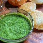Green Chutney Recipe for Chaats