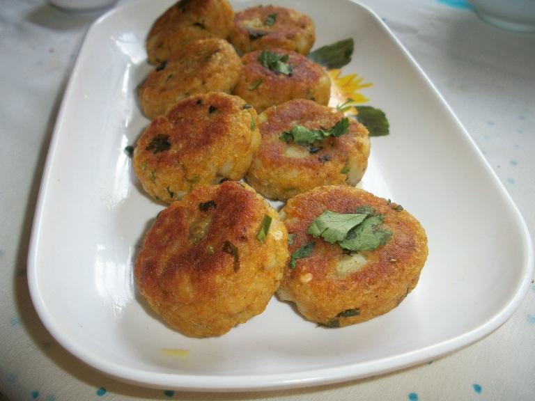 Aloo Tikki / Aloo Cutlet / Potato Patties / Aloo Tikki for Ragda Pattice(Patties) – Chat Items