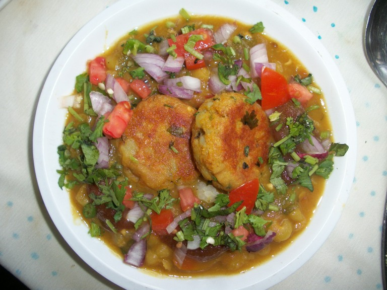 Ragda Pattice / Ragda Patties / How to make Ragda for Ragda Pattice – Chat Items / Side dish for Roti