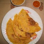Instant Rajasthani Besan Ka Cheela / Besan Pancakes / Gram Flour Dosa / Puda / Chickpea Flour Pancakes