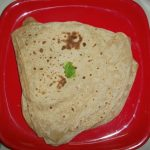How to make Triangle Paratha / Layered Paratha / Triangle Roti