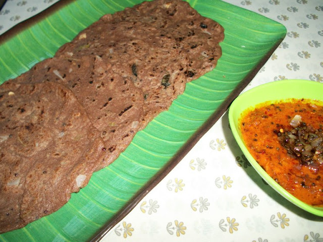 Instant Ragi Adai / Kezhvaragu Adai  / Finger Millet Adai – Diabetics Recipes / Diet Recipes / Healthy Recipes