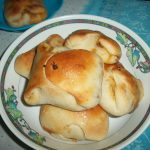 Egg Buns / Buns Stuffed with Spicy Eggs and Onion Filling