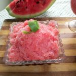 Watermelon Granita – Summer Special Recipes / Healthy Summer Recipes