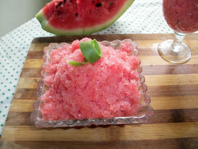Watermelon Granita – Summer Special Recipes / Healthy Summer Recipes