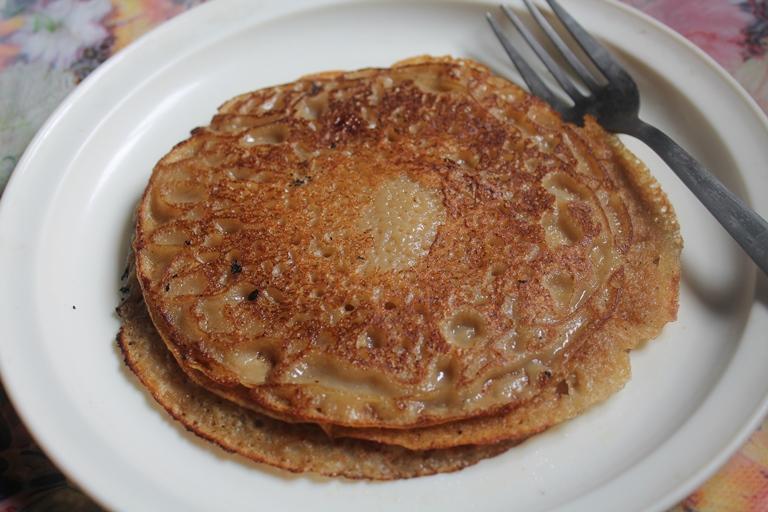 Wheat Jaggery Pancakes Recipe / Kothumai Inipu Dosa Recipe / Vella Dosa Recipe