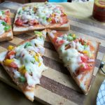 Vegetable Bread Pizza – Two Ways ( Oven & Stove -Top ) – Kids Special Recipes under 30 mins