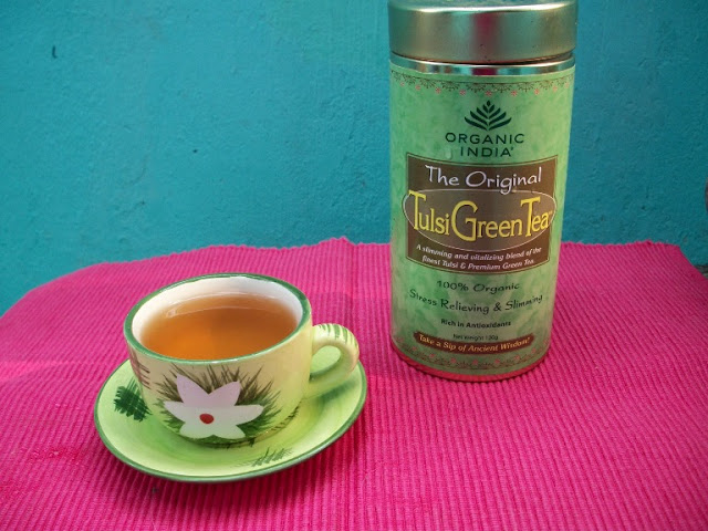 Organic India Tulsi Green Tea – A Review