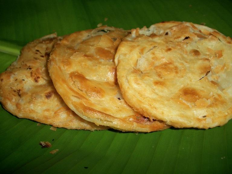 Poricha Parota(Paratha) / Poritha Parota / Deep Fried Layered Indian Bread – Tirunelveli & Thoothukudi (Tuticorin) Special