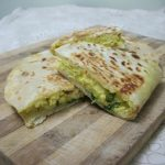 Quesadilla with Scrambled Eggs & Cheese – Breakfast Quesadilla