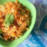Gujarati Carrot & Peanut Salad