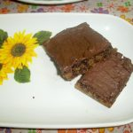 Eggless Mocha Chocolate ShortBread Bars