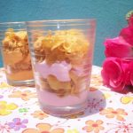 Instant Strawberry and Mango Yogurt Cornflakes Parfait  –  French Layered Desert / Summer Special Recipes