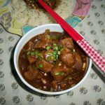 Low Fat Soya Chunks Manchurian / Meal Maker Manchurian