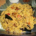 சேமியா தக்காளி மசாலா பாத் / Vermicelli Tomato Masala Bath / Tomato Semiya Upma – SouthIndian Breakfast Thali