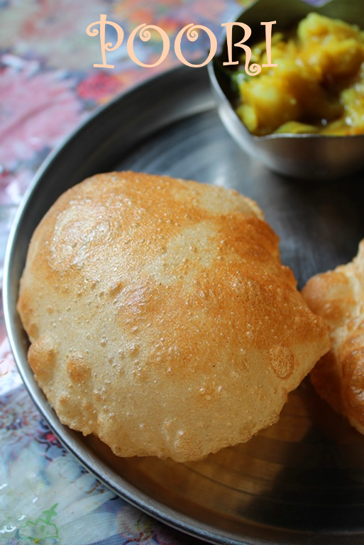 The perfectly puffed poori puri recipe deep fried indian bread forumfinder Choice Image