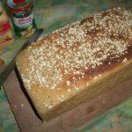 A Huge Loaf of Whole Wheat Bread ( No Maida )
