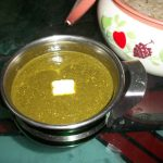 Plain Palak Gravy / Spiced Up Spinach Puree – Combo for Roti or Rice