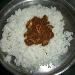 கனவா குழம்பு / Koonthal Kulambu / Kadamba Fish Curry / Baby Squid Cooked in a Roasted Coconut Sauce /