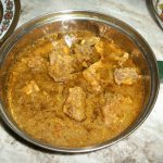 Herby Chicken Curry / Chicken Cooked in Mint & Coriander Sauce & A WEDDING WISH