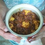 Kadai Paneer – Cooking with my Sister